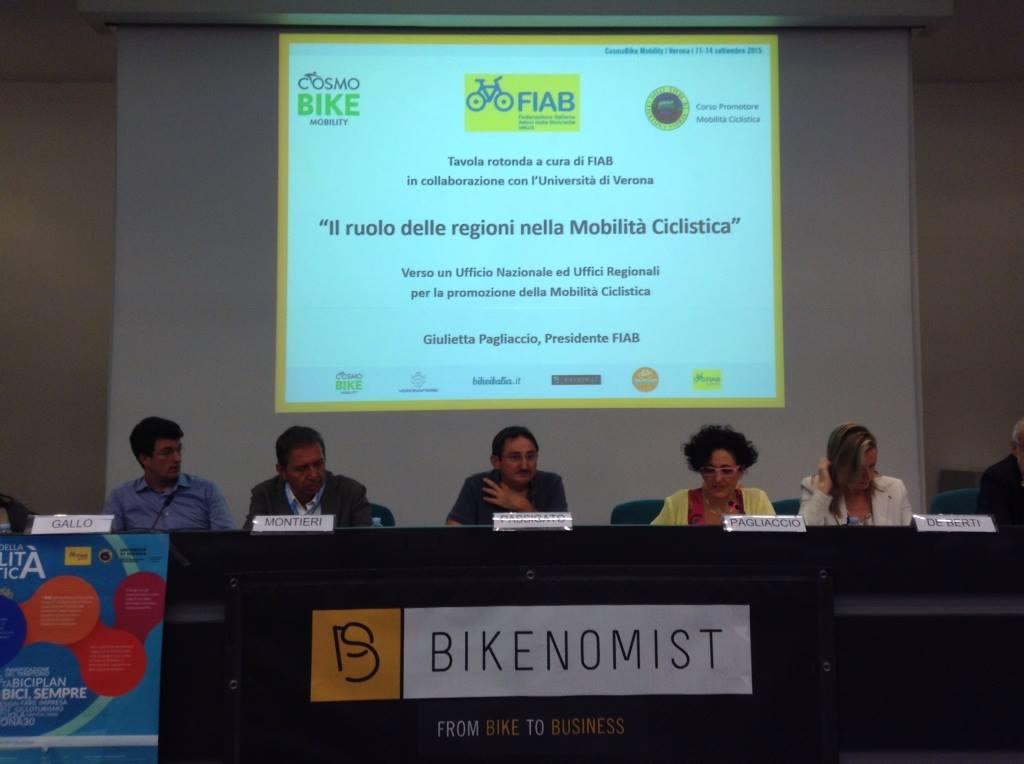 Ufficio In Mobilità : Fiab area tecnica il ruolo delle regioni nella mobilità ciclistica